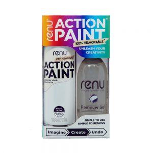 Action Paint Set - White
