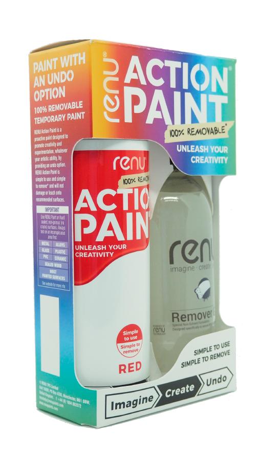 Action paint by Renu