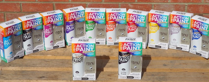 Action Paint range