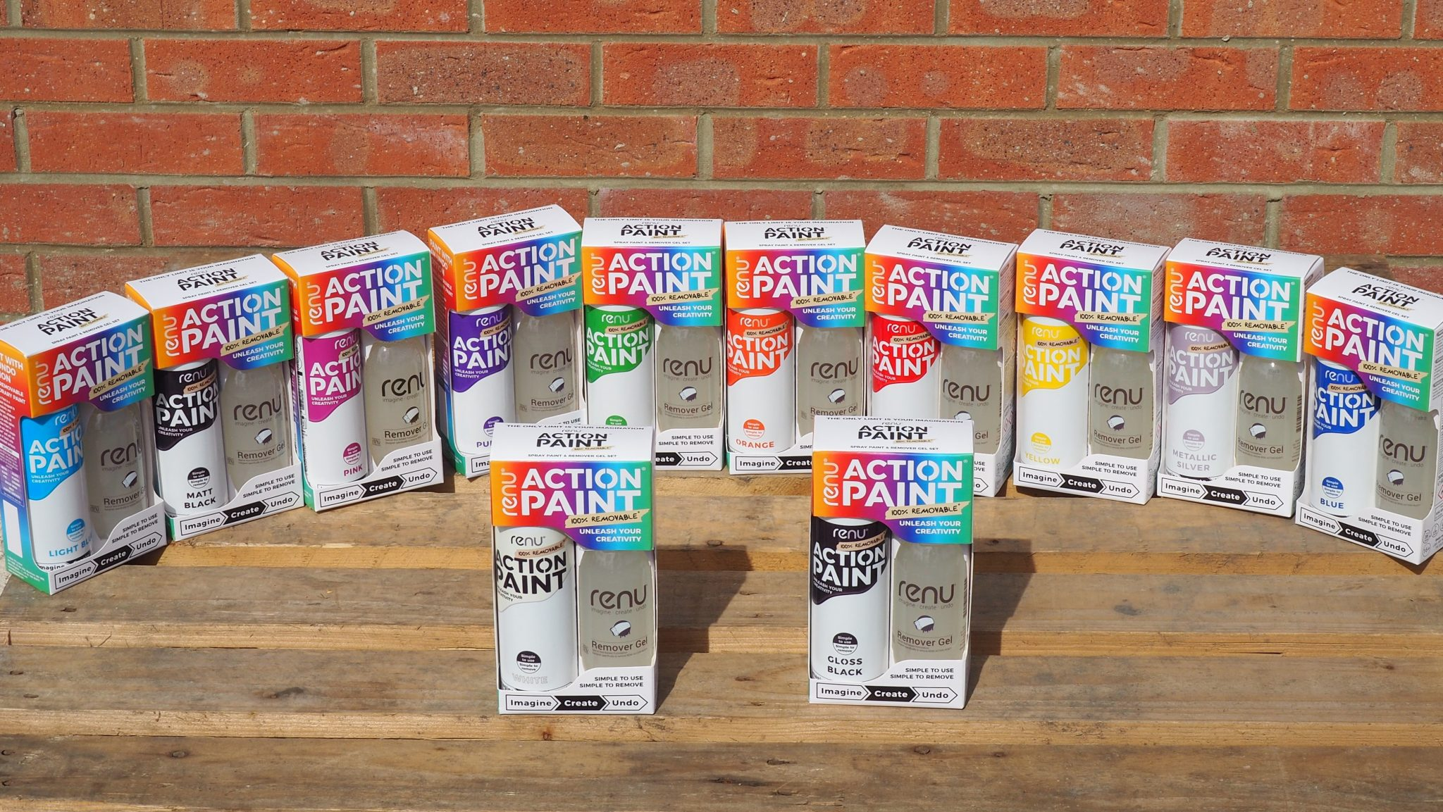 Action Paint Colours