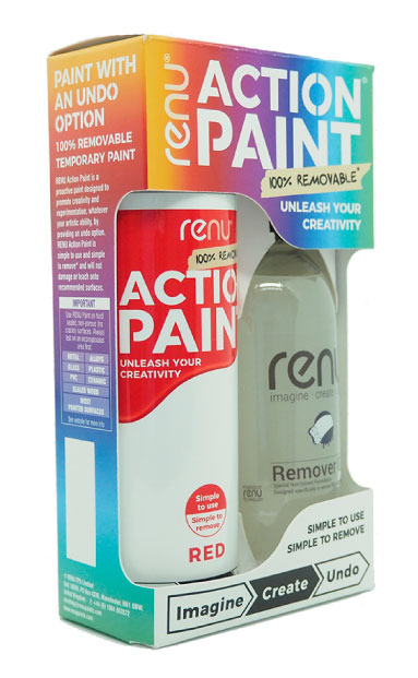 Action Paint retail pack